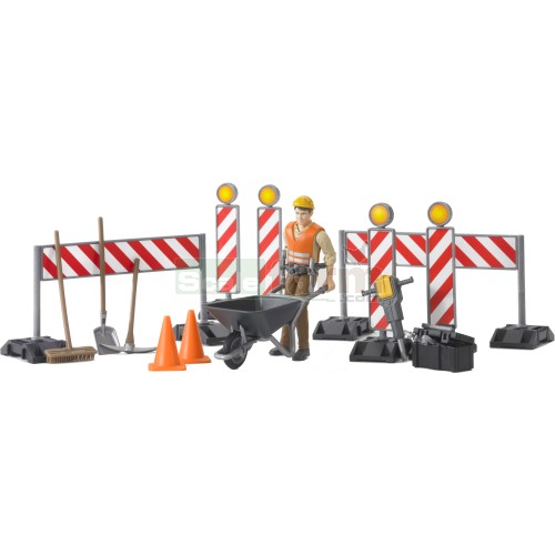bworld Construction Set with Figure (Bruder 62000)