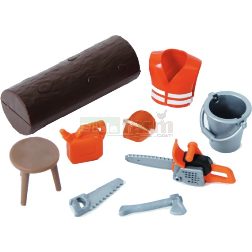 bworld Farming and Forestry Accessory Set (Bruder 62601)