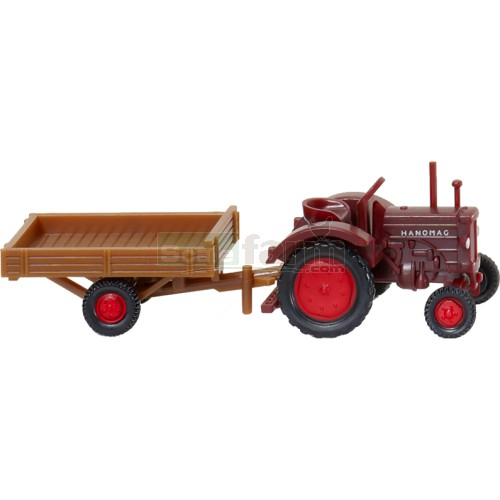 Antique Tractor Trailers : Wiking hanomag r vintage tractor with trailer
