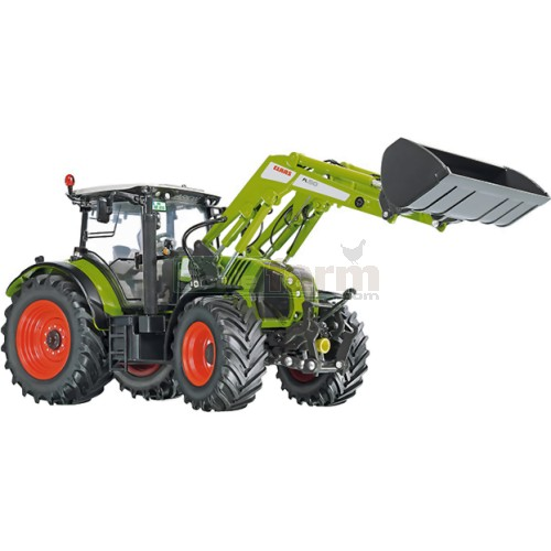 CLAAS Arion 650 Tractor with Front Loader (Wiking 7325)
