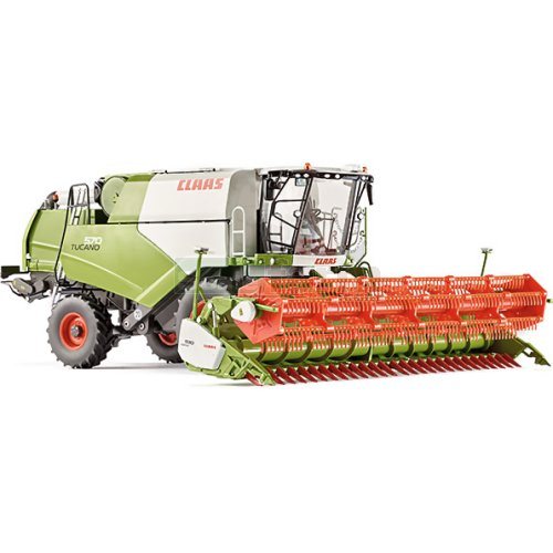 CLAAS Tucano 570 Combine Harvester with V930 Grain Header (Wiking 7817)
