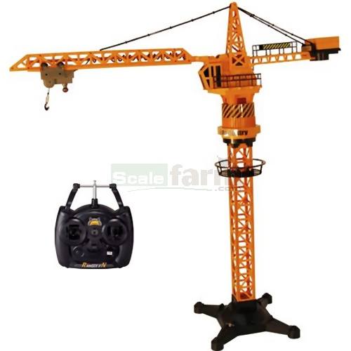 Tower Crane Engine : Hobby engine remote control tower crane