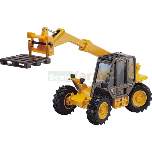 JCB 525-58 Loadall with Telescopic Forks and Pallet (Joal 166)