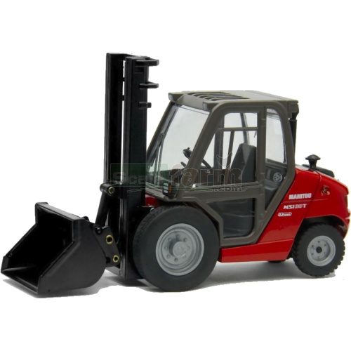 Manitou MSI30T K Series Forklift with scoop (Joal 205)