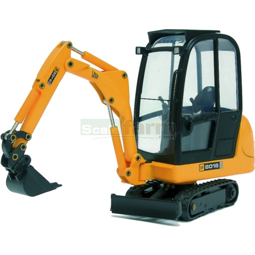 JCB 8016 Mini Excavator with Bucket (Joal 219)