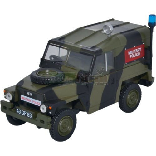Land Rover 1/2 Ton Lightweight - Military Police (Oxford Diecast 43LRL002)
