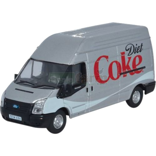 Ford Transit LWB High Roof - Diet Coke (Oxford 76FT019CC)