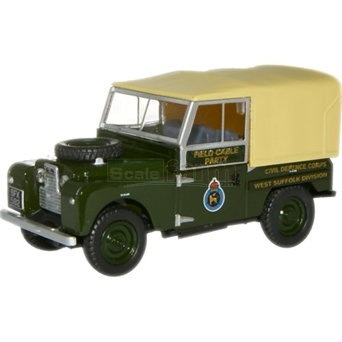 Land Rover - Civil Defence Corps (Oxford 76LAN188008)