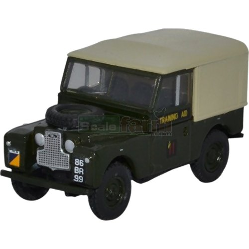 Land Rover Series 1 88 Canvas - 6th Training Regiment (Oxford 76LAN188022)