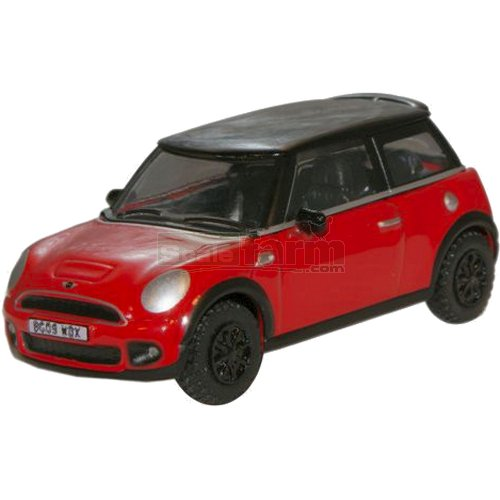BMW Mini - Chilli Red (Oxford 76NMN001)