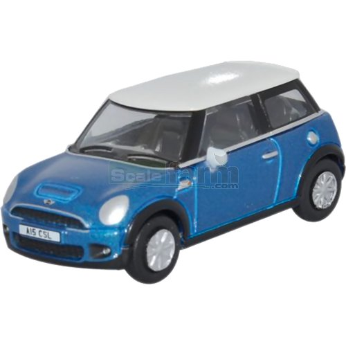 BMW Mini - Laser Blue (Oxford 76NMN006)