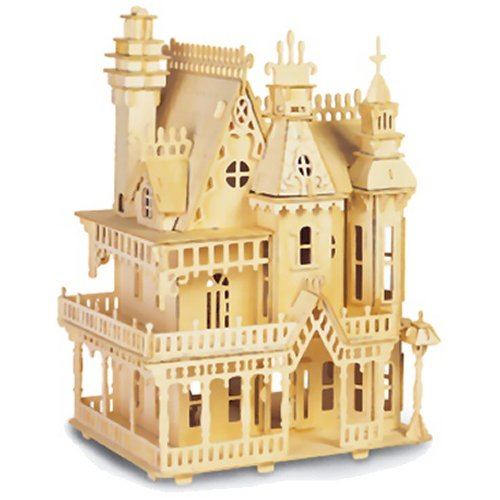 Fantasy Villa Woodcraft Construction Kit (Quay D004)