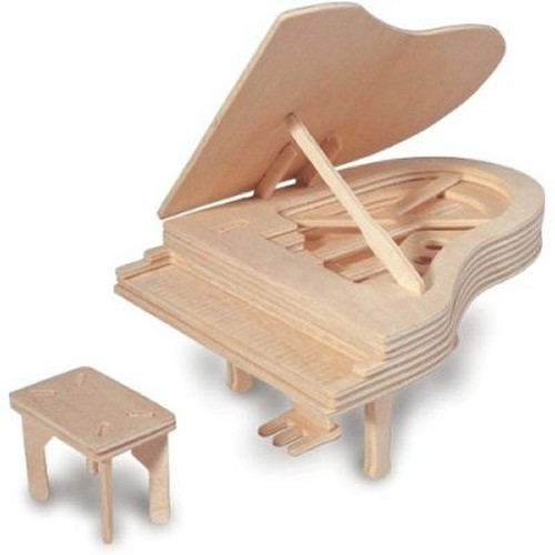 Piano Woodcraft Construction Kit (Quay L004)
