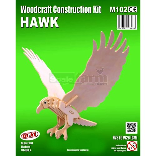 Hawk Woodcraft Construction Kit (Quay M102)