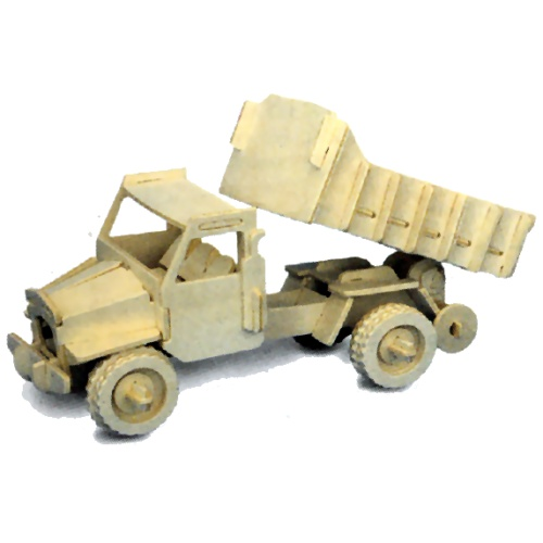 Lorry Woodcraft Construction Kit (Quay P026)