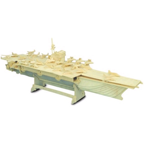 Aircraft Carrier Woodcraft Construction Kit (Quay P048)