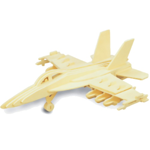 F-18 Hornet Woodcraft Construction Kit (Quay P104)