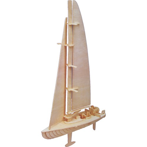 Yacht Woodcraft Construction Kit (Quay P308)