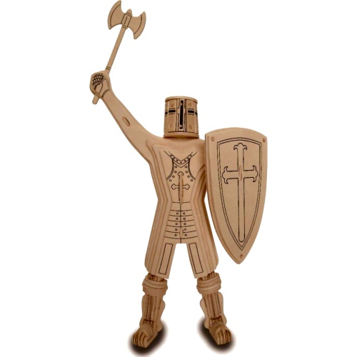 Knight Templar Woodcraft Construction Kit (Quay P317)