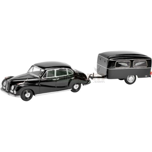 BMW 502 and Hearse Trailer (Schuco 02045)