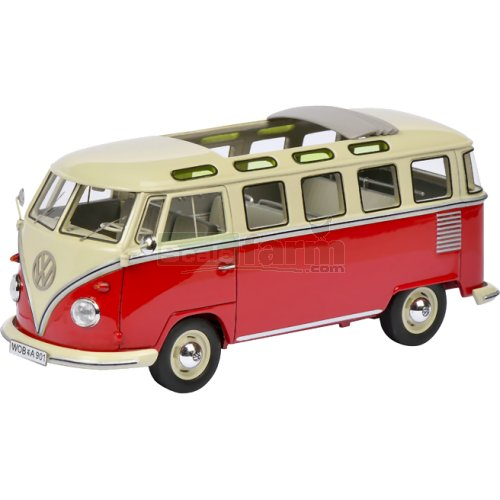 VW T1 Samba Bus with Open Roof (Schuco 08990)