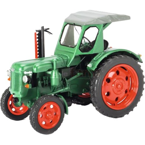 Famulus RS14/36 Vintage Tractor with Side Cutter - Green (Schuco 09017)