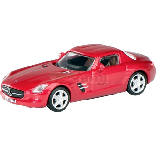 Schuco 25855 mercedes benz sls amg coupe red for Mercedes benz sls amg red