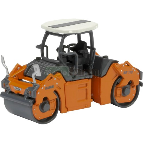 Hamm HD+ 110 Tandem Roller with Open Cab (Schuco 26004)