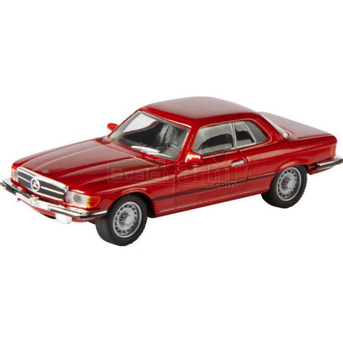Mercedes 450 SLC Coupe - Red (Schuco 26052)
