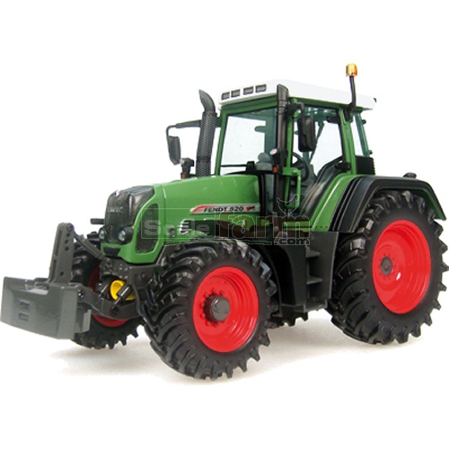 Fendt 820 Vario Tractor with Front Weight (Universal Hobbies 2652)