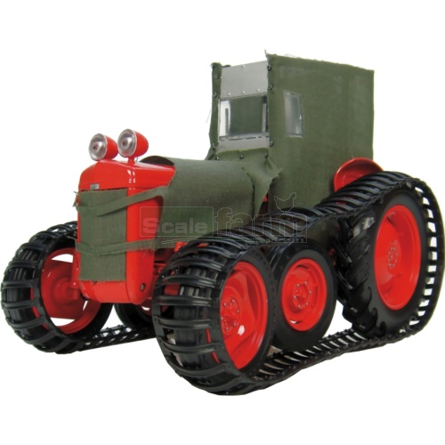 Ferguson TEA-20 'Sue' Polar Tractor - Red & Canvas (Universal Hobbies 2921)