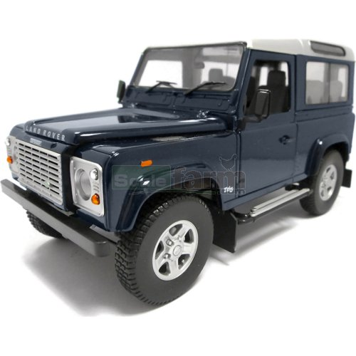 Land Rover Defender 90 Td5 Station Wagon - Baltic Blue (Universal Hobbies 3888)