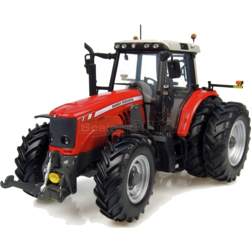 Massey Ferguson 6480 Dual Rear Wheel Tractor (US Version) (Universal Hobbies 4055)