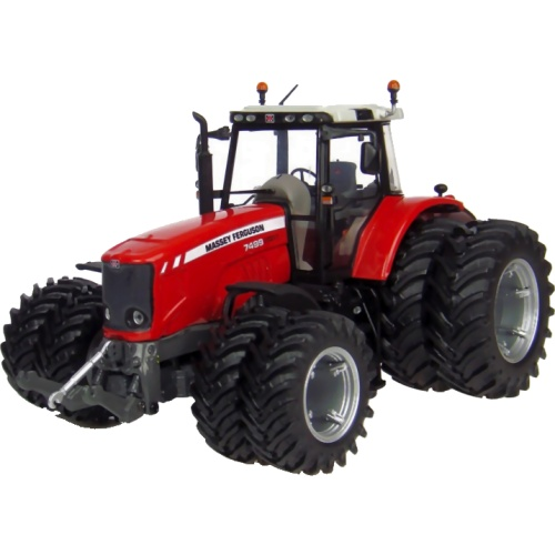 Massey Ferguson 7499 Tractor with Double Wheels (Universal Hobbies 4083)