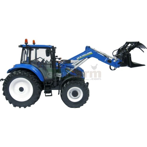 New Holland T5.115 Tractor with 740TL Loader (Universal Hobbies 4274)