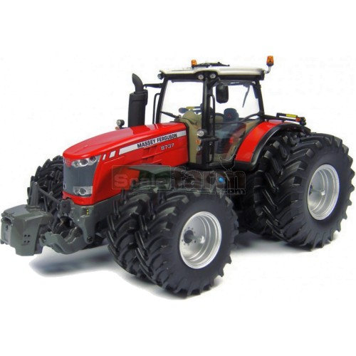 Massey Ferguson 8737 Tractor with Dual Wheels (Universal Hobbies 4284)