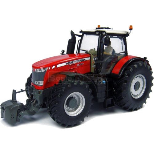 Massey Ferguson 8737 Tractor - Limited Edition USA Version (Universal Hobbies 4859)