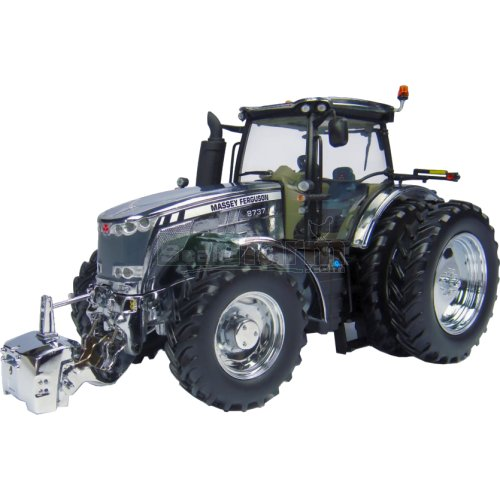 Massey Ferguson 8737 Tractor - Limited Edition Chrome (Universal Hobbies 4860)