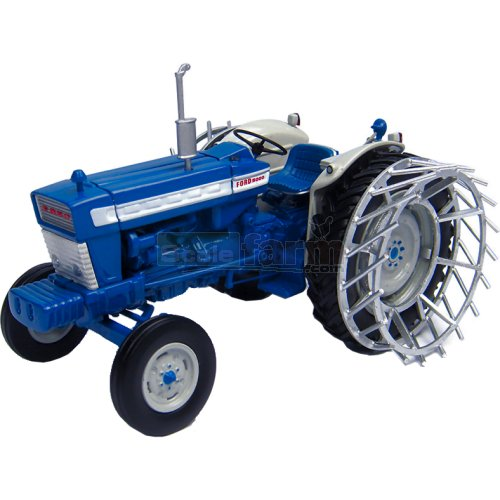 Ford 5000 Tractor with Cage Wheels (Universal Hobbies 4879)