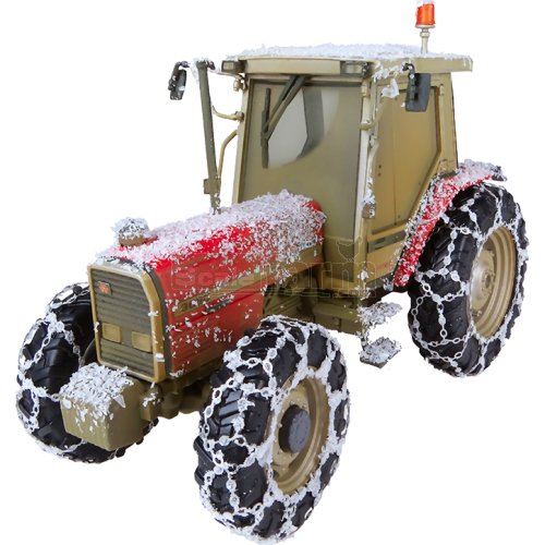 Massey Ferguson 3090 Tractor 'Snow' Edition (Universal Hobbies 5202)