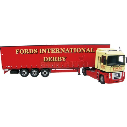 Renault Magnum - Fords of Derby with Container Keyring (Universal Hobbies 5638)