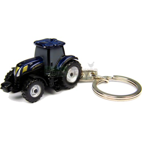 New Holland T6.160 Golden Jubilee Tractor Keyring (Universal Hobbies 5804)