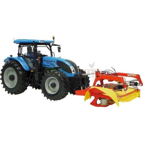 Landini Powermaster 220 Tractor with Fella SM310 Front Mower (Universal Hobbies 7107)