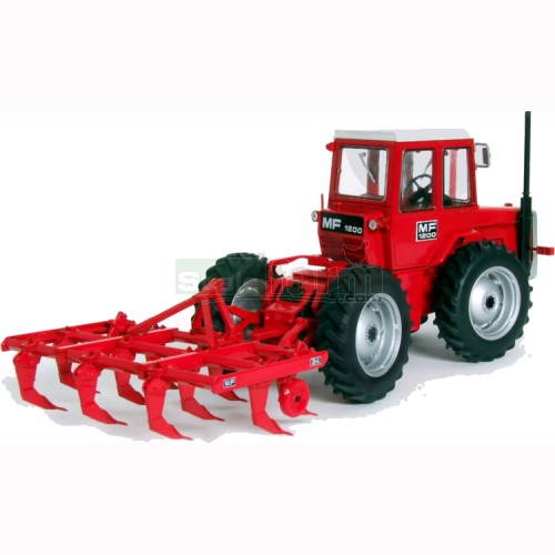 Massey Ferguson 1200 Tractor with Harrow (Universal Hobbies 7114)