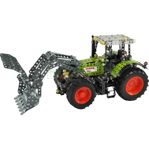 CLAAS Axion 850 Tractor with Frontloader Construction Kit (Tronico 10061)