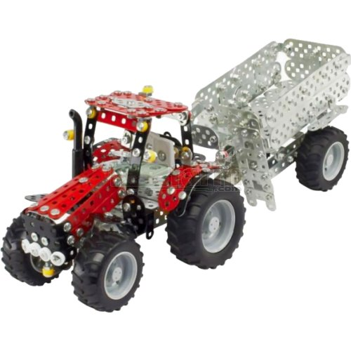 CASE IH Puma CVX Tractor with Trailer Construction Kit (Tronico 10074)