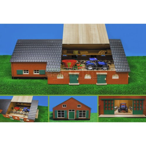 Farmhouse with Farm Buildings (Kids Globe 610111)