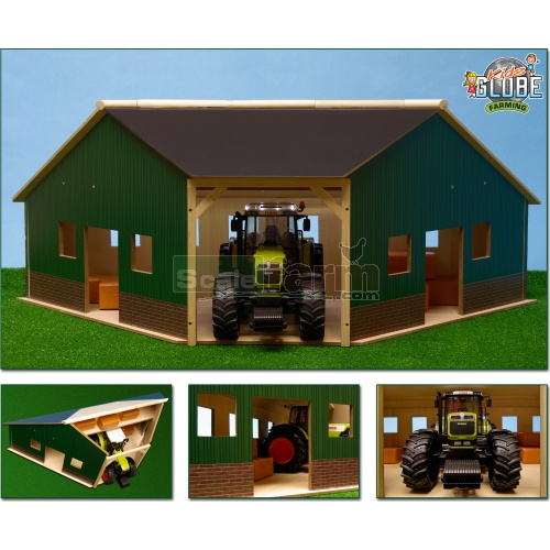 Wooden Corner Farm Shed (Kids Globe 610339)