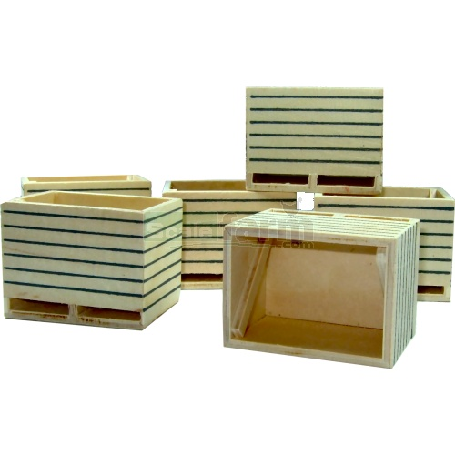 Wooden Boxes (6 pack) (Kids Globe 610611)