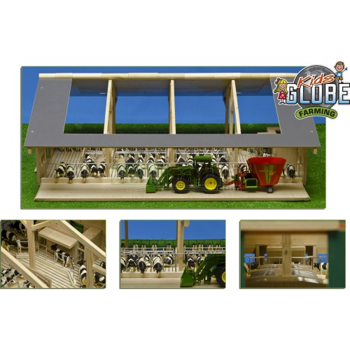 Open Front Farm with Milk Robot (Kids Globe 610694)